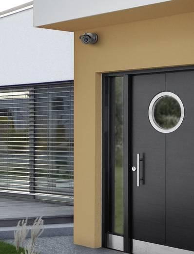 Kültéri megfigyelő kamera, vezetékes biztonsági kamera infra LED-del 648 x 512 Pixel gyújtótávolság 12mm Sygonix 24457W