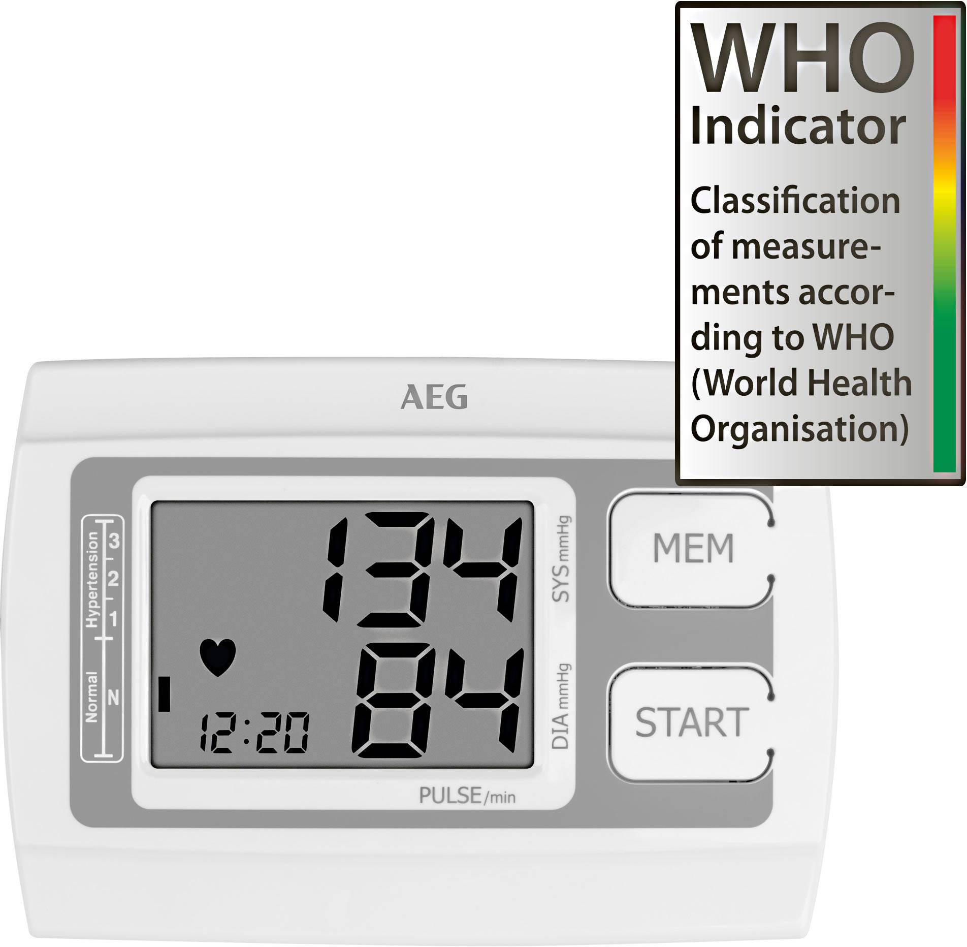 Felkaros vérnyomásmérő, AEG BMG 5611 ár, eladó - Conrad..