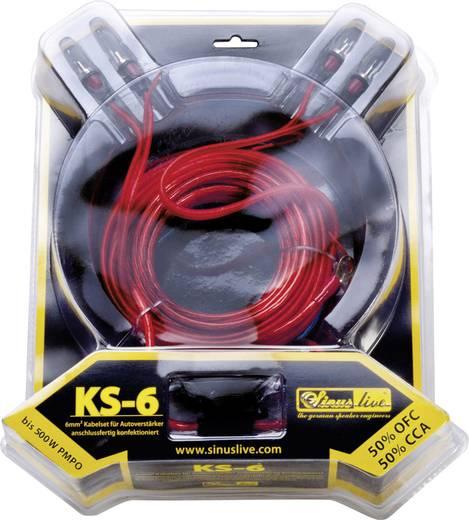 Végfok csatlakozó készlet KS6