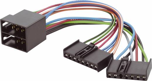 Autórádió adapterkábel ISO gyári Ford autórádióhoz