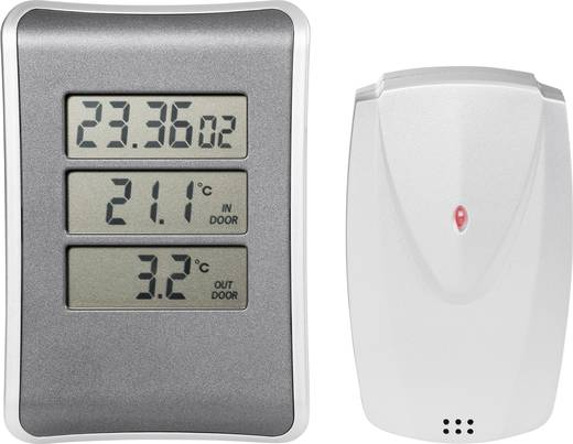 Vezeték nélküli digitális külső-belső hőmérő órával, S331B