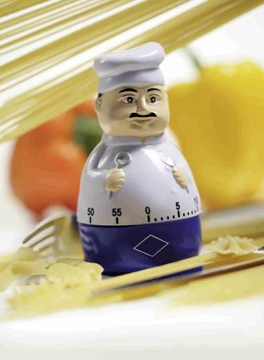 Konyhai időzítő, szakács figura, Ø 104 x 58 mm, TFA 38.1008