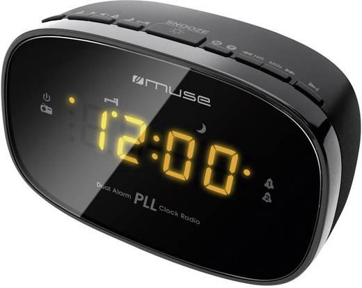 Rádiós ébresztőóra, Ébresztőrádió, URH, fekete, Muse M-150 CR