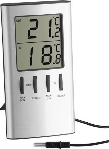Digitális külső-/belső hőmérő, ezüst, TFA 30.1027