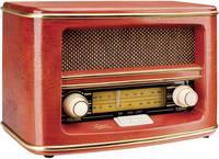 Asztali retro rádió, fa burkolattal Dual NR 1 Nostalgia (70850) Dual