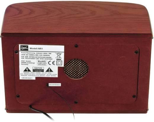 Asztali retro rádió, fa burkolattal Dual NR 1 Nostalgia