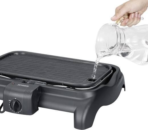 Asztali elektromos grillsütő, barbecue grill 1600 W, fekete, Severin PG 1525