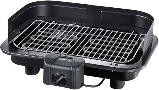 Asztali elektromos grillsütő szélvédővel, manuális hőmérséklet állítással 2500 W Severin PG 2791