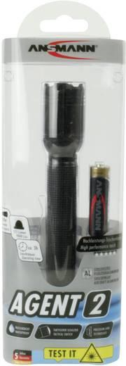 LED Kézilámpa Ansmann Agent 2 Elemekről üzemeltetett 125 lm 141 g Fekete