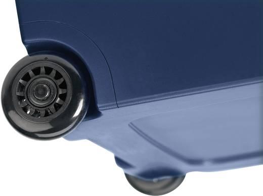 Szivargyújtós autós, elektromos hűtőláda 12V/230V 48L-es húzható gurulós Waeco MobiCool W48