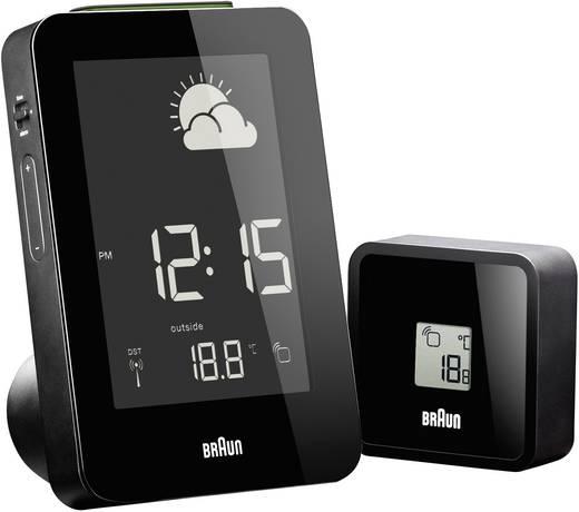 Vezeték nélküli időjárásállomás, fekete, Braun 66038