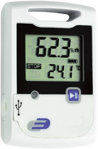 USB-s hőmérséklet, légnedvesség adatgyűjtő 2 x 20000 adattárolással Dostmann Electronic LOG20 5005-0002