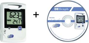 USB-s hőmérséklet, légnedvesség adatgyűjtő 2 x 20000 adattárolással Dostmann Electronic LOG20 5005-1002 Dostmann Electronic