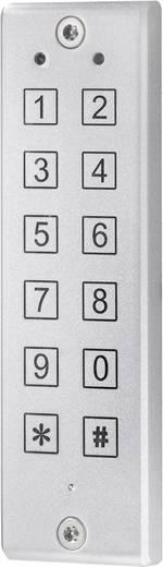 Falra szerelhető kódzár 12V/DC, IP65, sygonix 20812V