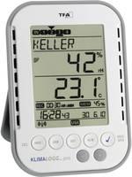 Digitális páratartalom-/hőmérő adatgyűjtővel, vezeték nélküli USB vevő, TFA KlimaLogg Pro 30.3039.IT TFA Dostmann