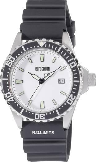 Férfi karóra, quartz óra szilikon szíjjal Eurochron Quartz Driver 7
