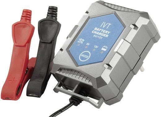Automatikus ólomakku töltő, autó akkukhoz 12V/1A IVT PL-C001P 911006
