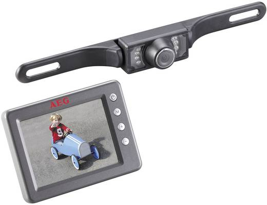 Rádiójel vezérlésű hátrameneti kamera rendszer, RV 3.5