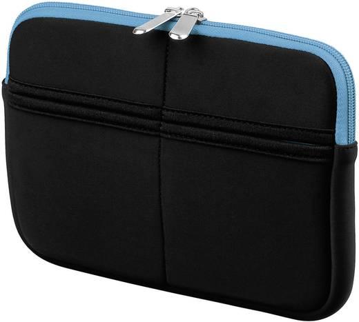 """Tablet PC tok, cipzáros 17,8 cm (7"""") - 20,3 cm (8"""") kijelző méretig, kék-fekete színű Goobay Sleeve 63512"""