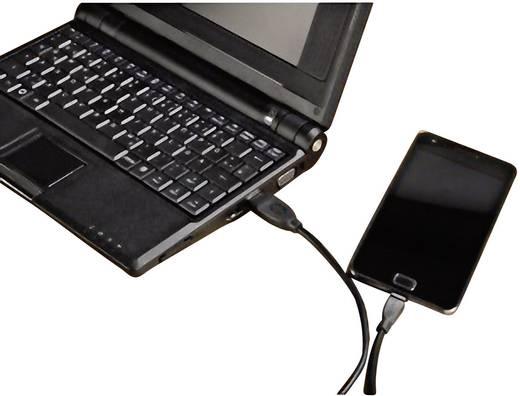 USB 2.0 Csatlakozókábel [1x USB 2.0 dugó A - 1x USB 2.0 dugó mikro-B] 3 m fekete Hama