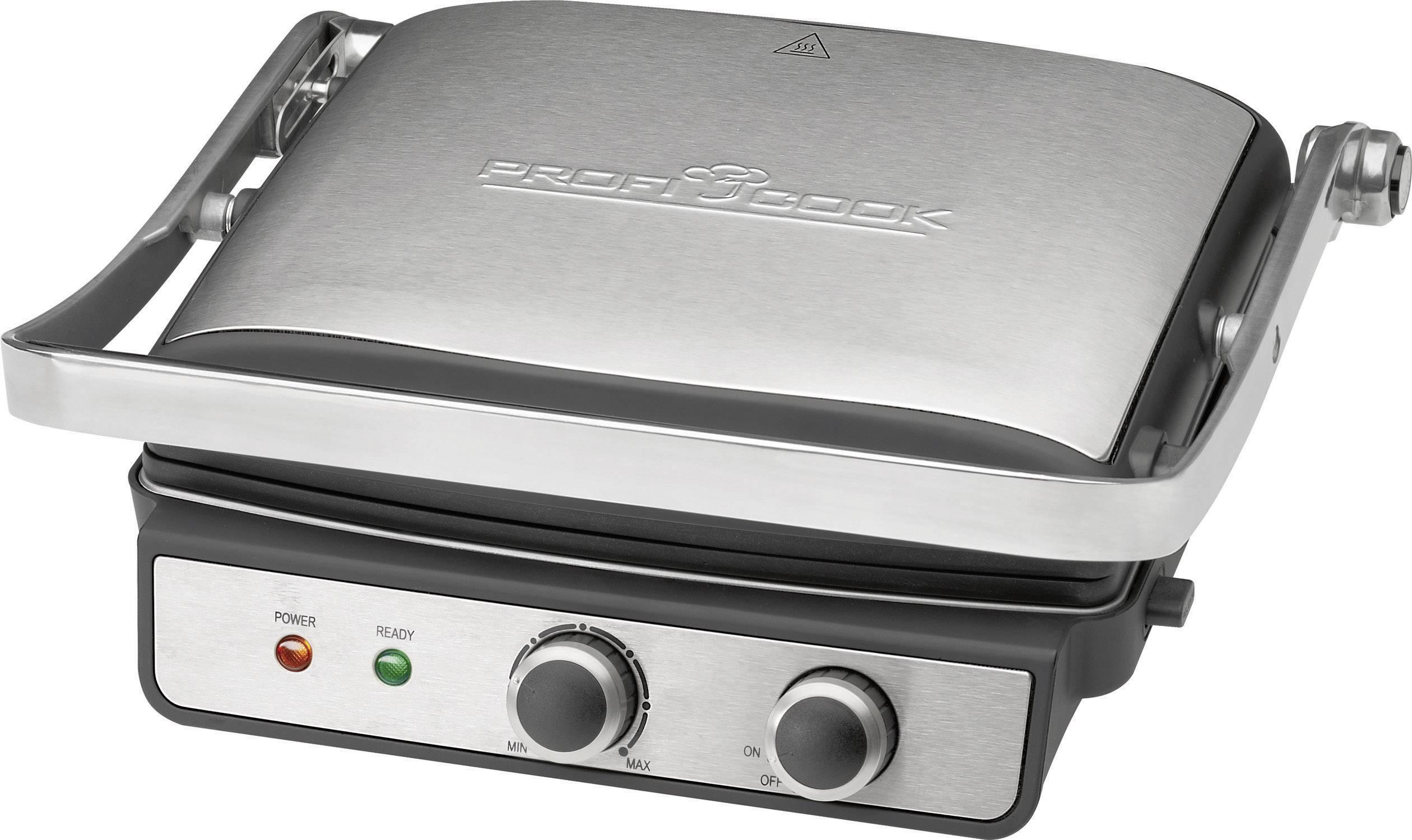 Asztali elektromos grillsütő, kontaktgrill Profi Cook PC ...
