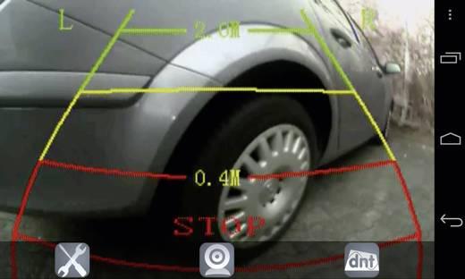 WLAN vezeték nélküli tolatást segítő videórendszer okostelefon alkalmazással, Dnt RFK WiFi