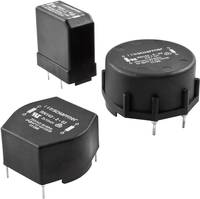 Fojtótekercs, tokozott, radiális, RM 10 mm 1,1 mH 70 mΩ 2 A Schaffner RN 102-2-02 (RN 102-2-02) Schaffner