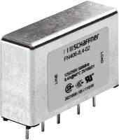 Zavarszűrő 250 V/AC 1 A 12 mH (H x Sz x Ma) 45 x 15 x 28 mm Schaffner FN 406-1-02 1 db Schaffner