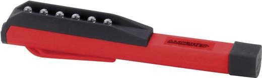 LED-es zseblámpa, kb. 10 óra, piros/fekete, 36 g, LED PENLIGHT SPION