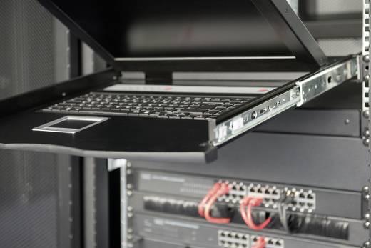 """Beépíthető 16 portos KVM switch, beépített 48,3cm (19"""") TFT monitorral Digitus DS-72013GE"""