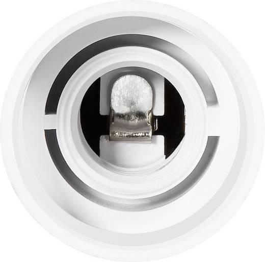 Lámpa foglalat átalakító adapter E27-ről E14-re, fehér, 3 db, Renkforce