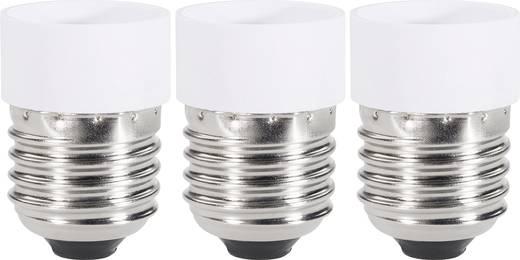 Lámpa foglalat átalakító adapter E27-ről GU10-re, fehér, 3 db, Renkforce 97029c81e