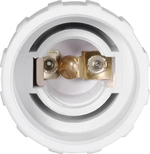 Lámpa foglalat átalakító adapter GU10-ről E14-re, fehér, 3 db, Renkforce 97029c81f