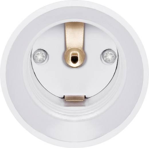Lámpafoglalat átalakító adapter E14-ről E27-re, fehér, 3 db, Renkforce 97029c81h