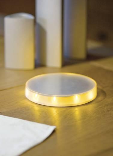 Éjszakai fény töltőkészülékkel, műanyag, titán/ámbra, Paulmann LED Night-Disc