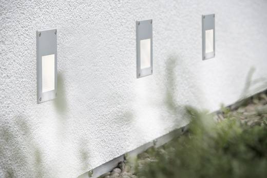 LED-es beépíthető lámpa, fali LED 2,4W 230V 97mm alumínium/fém, Paulmann Profi EBL