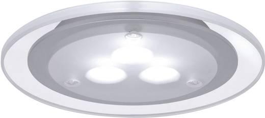 LED-es beépíthető lámpa, dekorációs LED, 3x3 W, 10VA, 230V/350mA, 100 mm, matt kró/akril/fém, Paulmann
