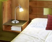 Asztali lámpa, G9, 40 W, 4430-55, Ecohalogén fényforrás, acél, Paul Neuhaus Pino Paul Neuhaus