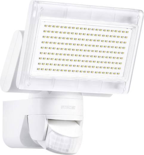 Mozgásérzékelős kültéri LED-es fali reflektor, 230 V/12 W, fehér/alu (műanyag), Steinel XLED Home 1 2695