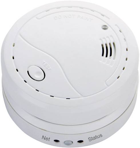 Vezeték nélküli füstérzékelő, 9V, 85 dB/3m, Cordes 1042