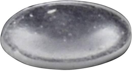 TOOLCRAFT Elasztikus puffer, öntapadó PD2816C (Ø x Ma) 8 mm x 1.6 mm átlátszó