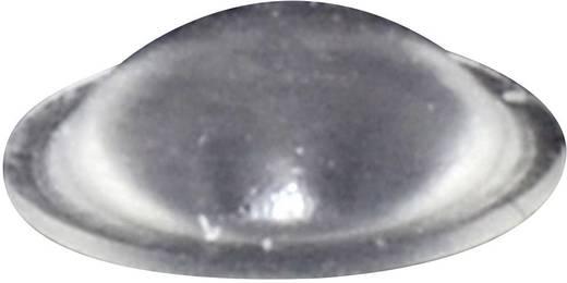 TOOLCRAFT Elasztikus puffer, öntapadó PD2010C (Ø x Ma) 10 mm x 3.1 mm átlátszó