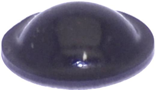 TOOLCRAFT Elasztikus puffer, öntapadó PD2010SW (Ø x Ma) 10 mm x 3.1 mm fekete
