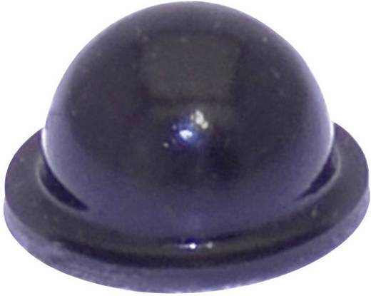 TOOLCRAFT Elasztikus puffer, öntapadó PD2055SW (Ø x Ma) 9.6 mm x 5.4 mm fekete