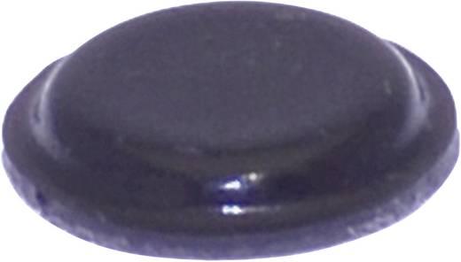 TOOLCRAFT Elasztikus puffer, öntapadó PD2120SW (Ø x Ma) 10.1 mm x 1.8 mm fekete