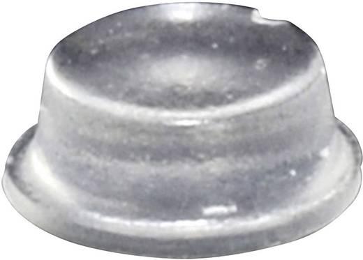 TOOLCRAFT Elasztikus puffer, öntapadó PD2104C (Ø x Ma) 10 mm x 4 mm átlátszó