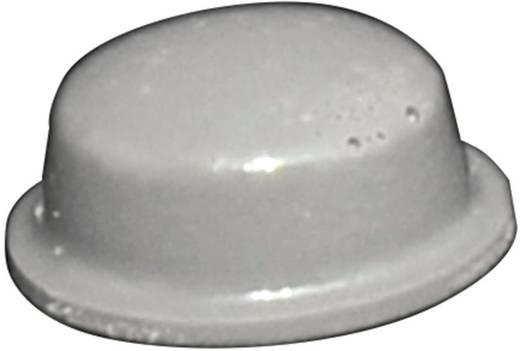TOOLCRAFT Elasztikus puffer, öntapadó PD2115G (Ø x Ma) 11.1 mm x 5 mm szürke