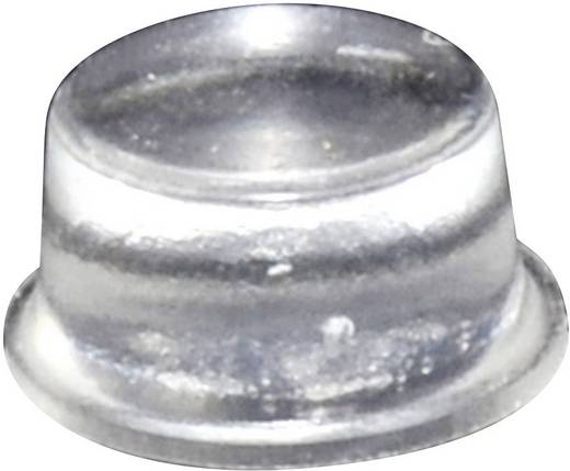 TOOLCRAFT Elasztikus puffer, öntapadó PD2128C (Ø x Ma) 12.7 mm x 6.2 mm átlátszó