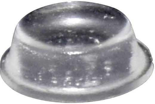 TOOLCRAFT Elasztikus puffer, öntapadó PD2014C (Ø x Ma) 14 mm x 4.5 mm átlátszó