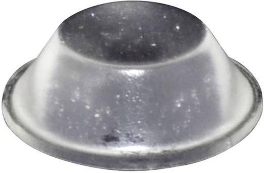 TOOLCRAFT Elasztikus puffer, öntapadó PD2019C (Ø x Ma) 19 mm x 6 mm átlátszó